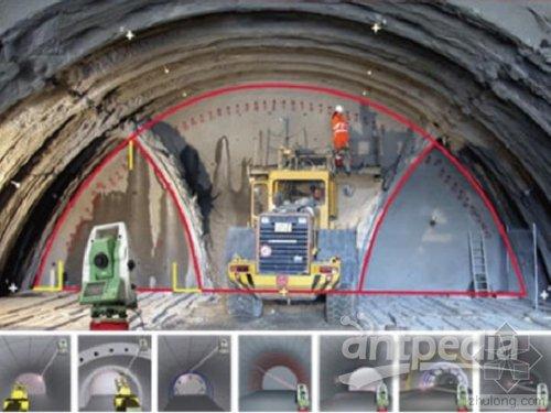 能迅速发现隧道内部混凝土结构的开裂